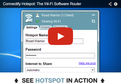 Watch Connectify Hotspot in Action