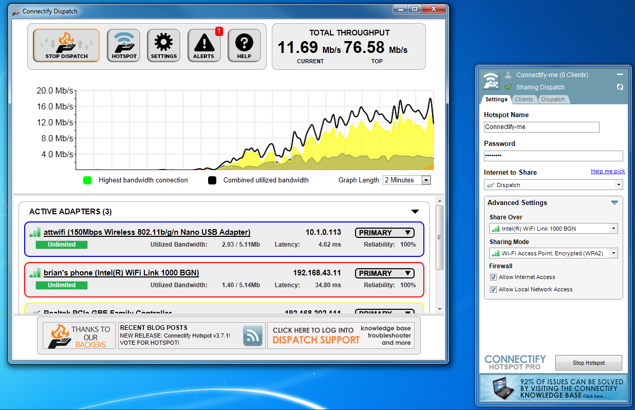 Connectify hotspot pro free download - 189e